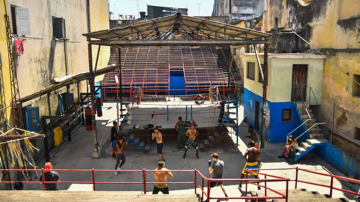 Rafael Trejo Gimnasio de Boxeo